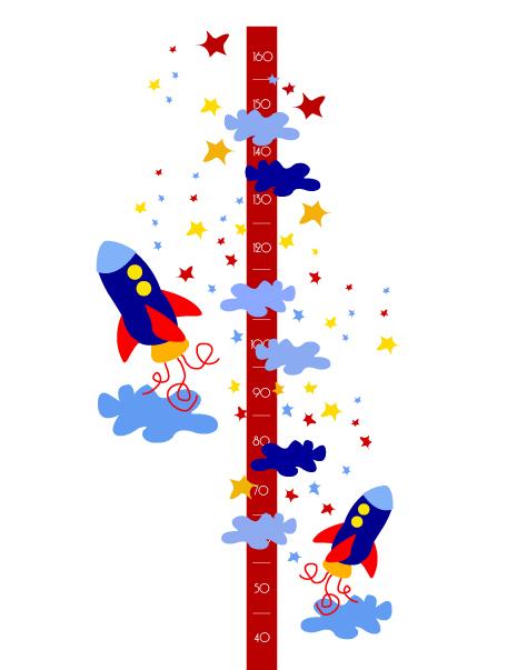 Sigue el crecimiento de tus hijos con vinilos decorativos - Imagenes de vinilos infantiles ...
